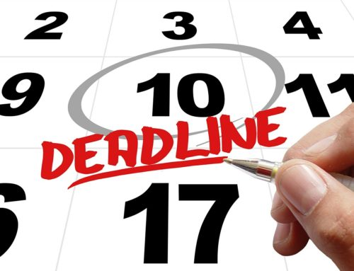 Tax Filing Deadline Is Around the Corner